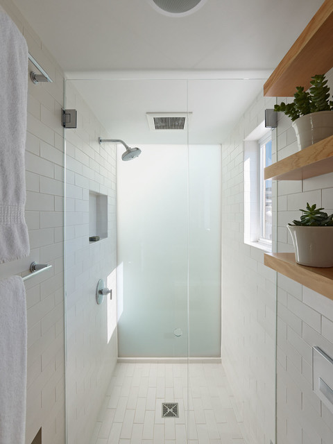 Lower Haight Remodel modern-bathroom