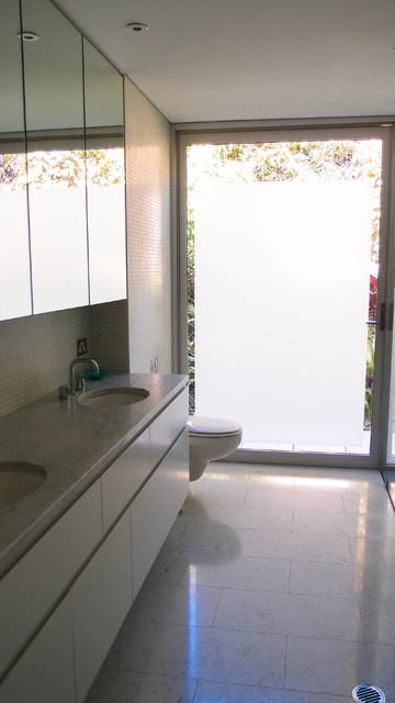 Lower North Shore Contemporary Bathroom Sydney By Monica Kovacic
