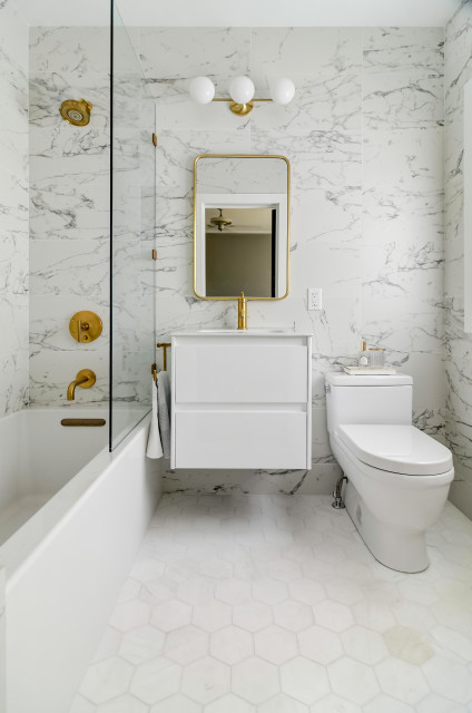 5 Bathroom Makeovers In 60 Square Feet Or Less