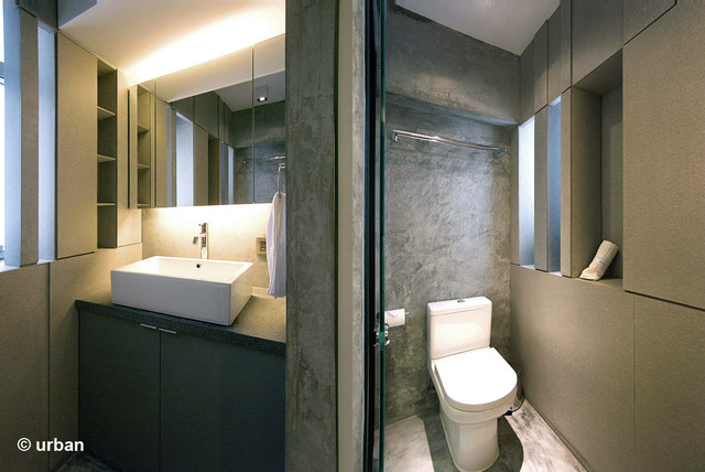 Small Bathroom Design Hong Kong ltd. - modern - bathroom - hong kong -urban design & build limited