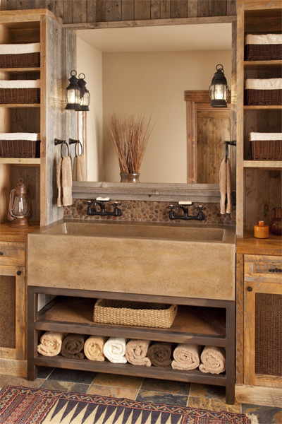 Lucky Star Ranch traditional-bathroom