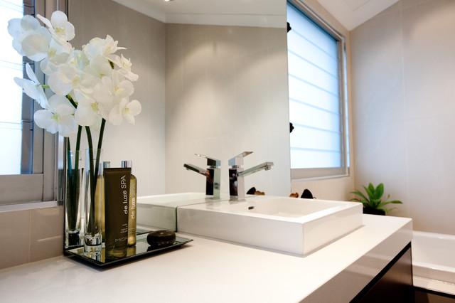 luisa interior design contemporain salle de bain brisbane par luisa interior design. Black Bedroom Furniture Sets. Home Design Ideas