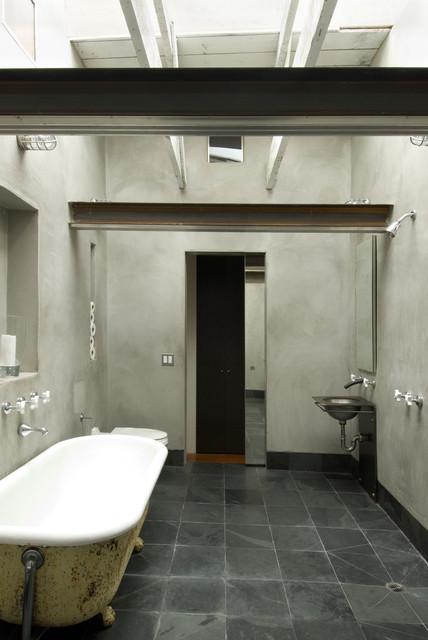 Lum rustic-bathroom