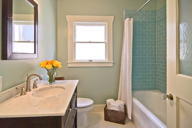 Lush 3x6 Glass Subway Tile Installations Contemporary