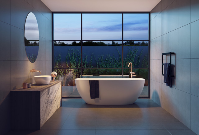 6 Hotel Style Bathroom Looks You Ll Love