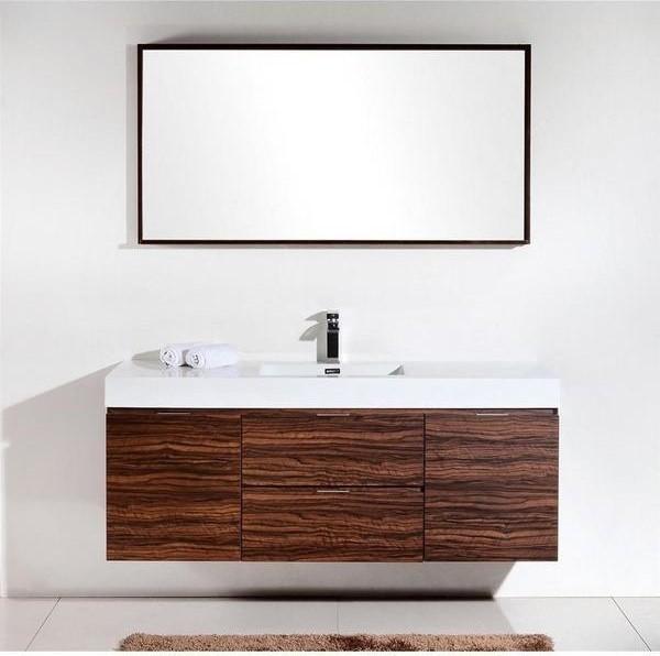 Modern Bathroom Vanity Dark Oak
