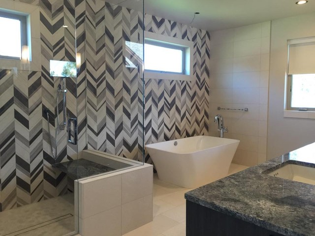 Luxe lake house contemporary bathroom other by - Lake house bathroom ideas ...