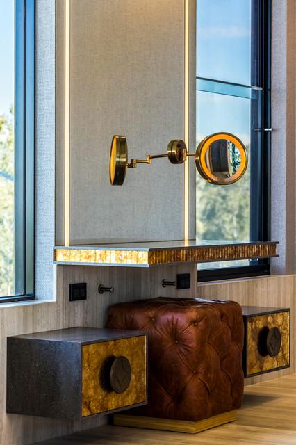 Luxe lodge architectural interior design project for Bathroom interior design brisbane