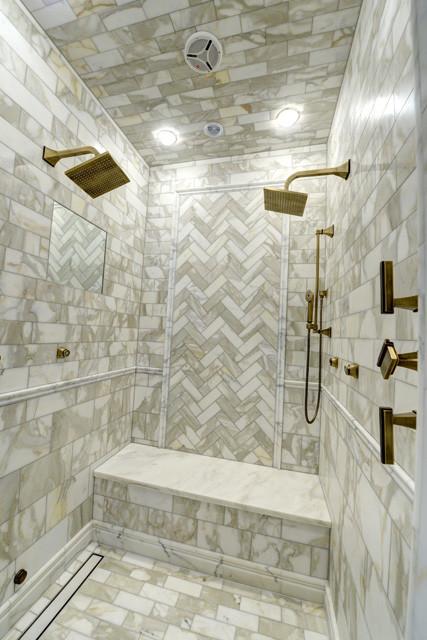 Luxe Linear Drain bathroom