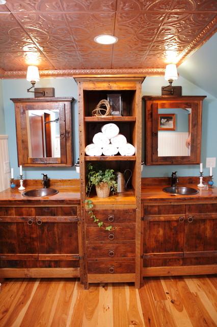 Luxurious Bathroom Ceiling Farmhouse Bathroom Other
