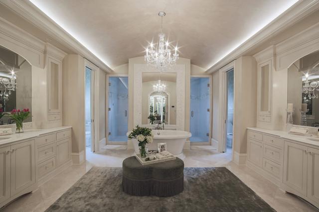 Luxurious master bath traditional bathroom charlotte for Bathroom design consultant