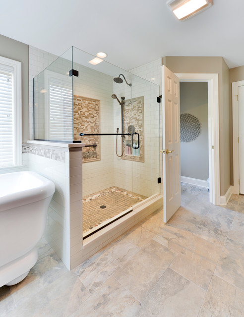Luxurious Master Bath In The Peninsula Mechanicsburg Pa Transitional Bathroom Other