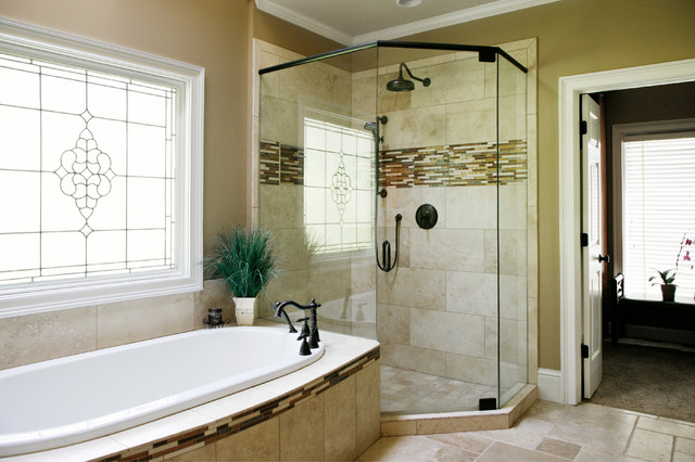 Luxurious Master Bathroom Remodel Contemporary