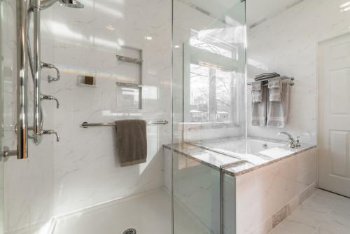 Walk in Shower in Kane County IL Bathroom remodel