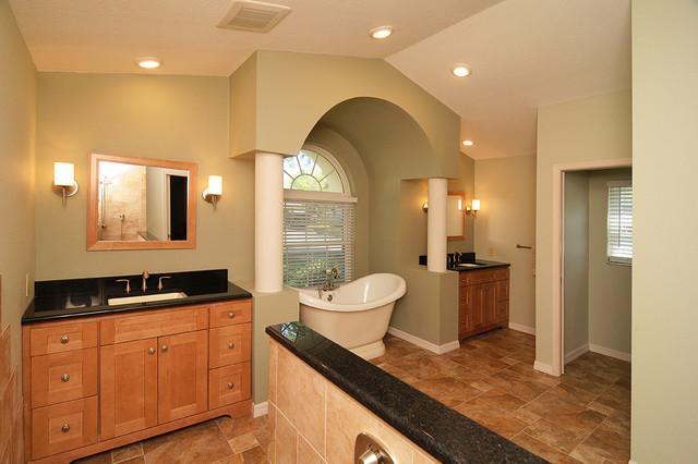Luxurious MasterBath traditional-bathroom