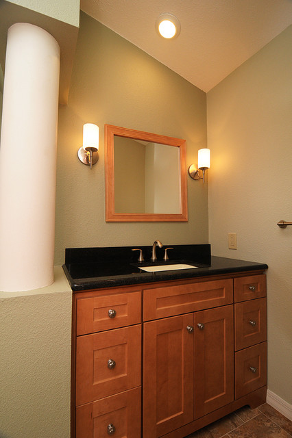Luxurious MasterBath traditional-bathroom