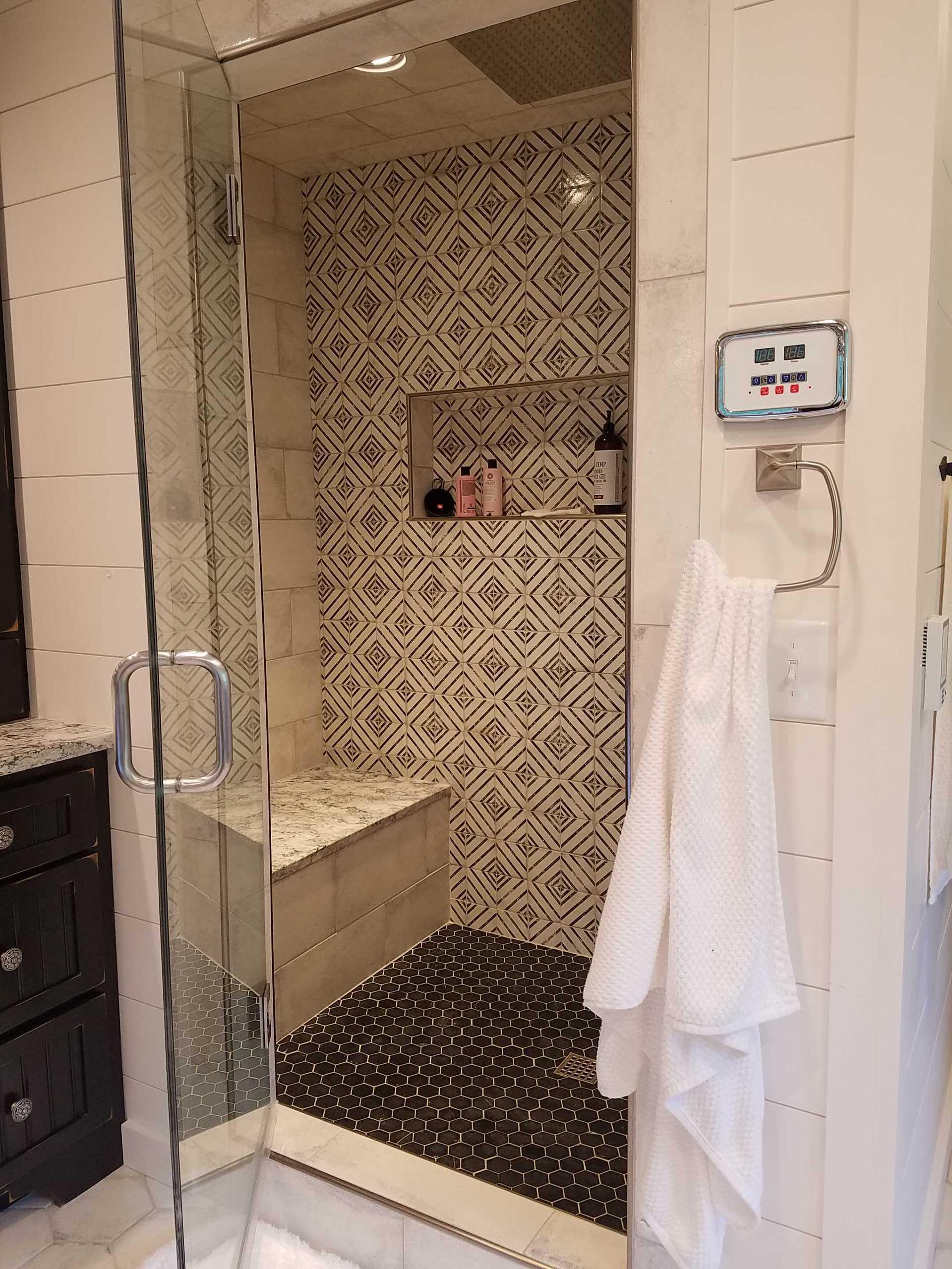 Luxurious Steam Shower