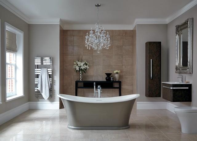 Luxurious Traditional Bathroom modern-bathroom