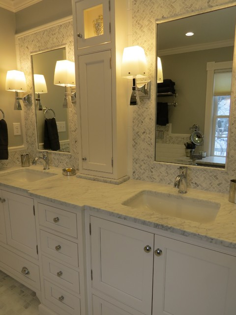 Luxuriously Accessible Master Bath Traditional Bathroom Portland Maine By Robin Amorello