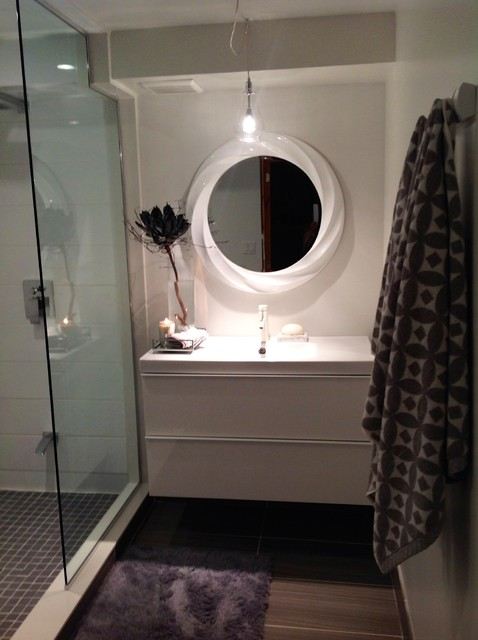 Luxury Basement Bathroom contemporary-bathroom