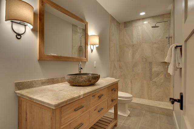 Luxury bath transitional bathroom minneapolis by for Bathroom remodel 10k