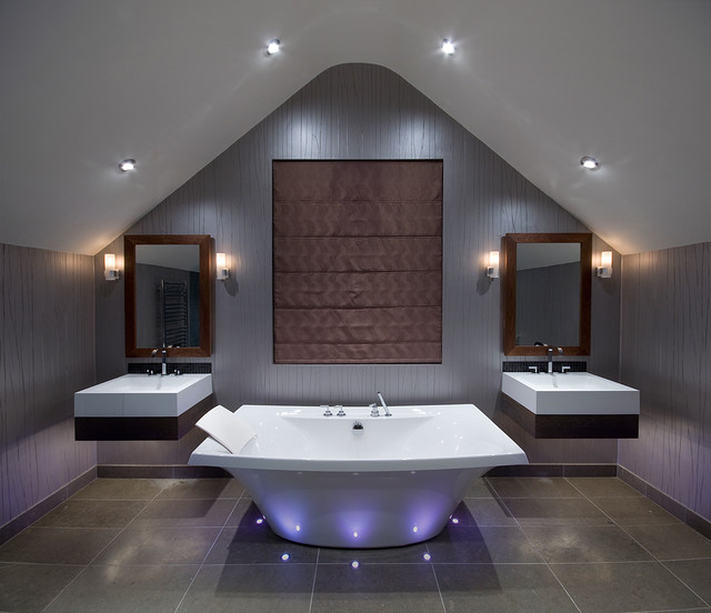 Luxury bathroom contemporary bathroom london by future light design for Luxury bathroom vanity lighting