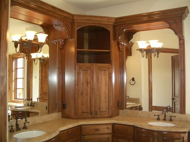 Luxury Bathrooms by Markay Johnson Construction traditional-bathroom