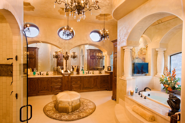 Luxury Bathrooms Mediterranean Bathroom Austin by Jenkins