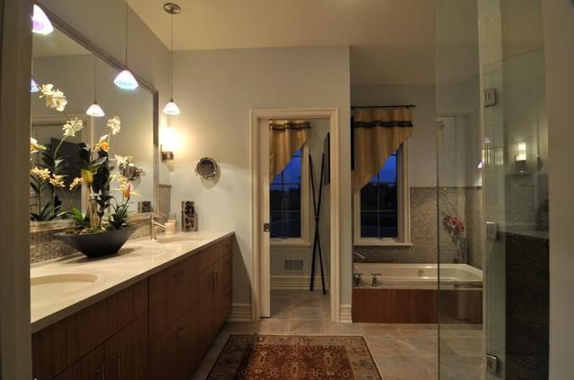 Luxury Cape Model Home traditional-bathroom