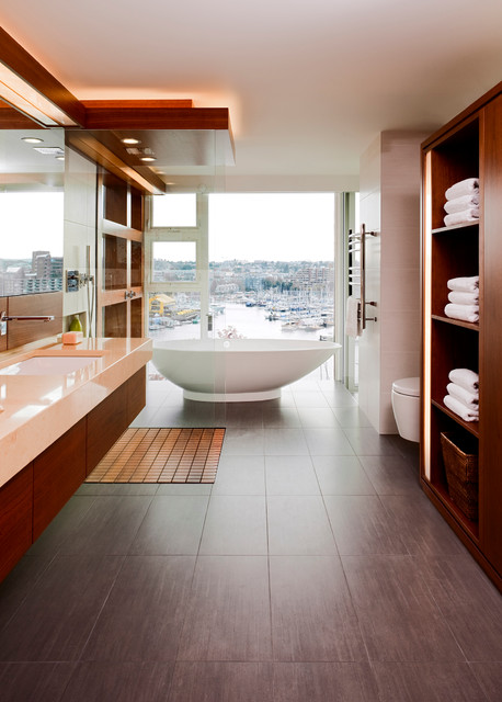 Luxury condo renovation downtown vancouver for Bathroom design vancouver