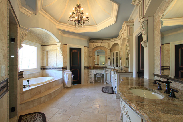 Luxury custom bathrooms Large master bath plans