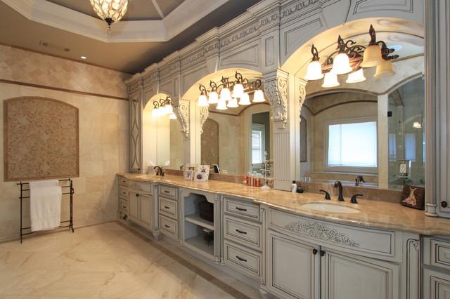 French country bathroom decor - Luxury Custom Bathrooms Traditional Bathroom