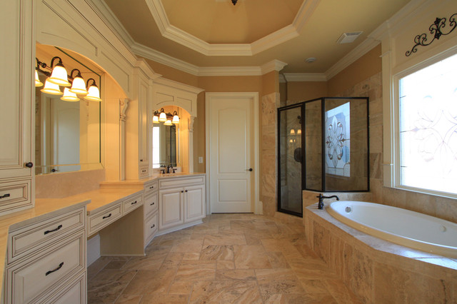 Luxury Custom Bathrooms Traditional Bathroom