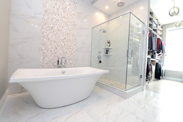Luxury custom build in 2016 contemporary bathroom for Bathroom designs edmonton