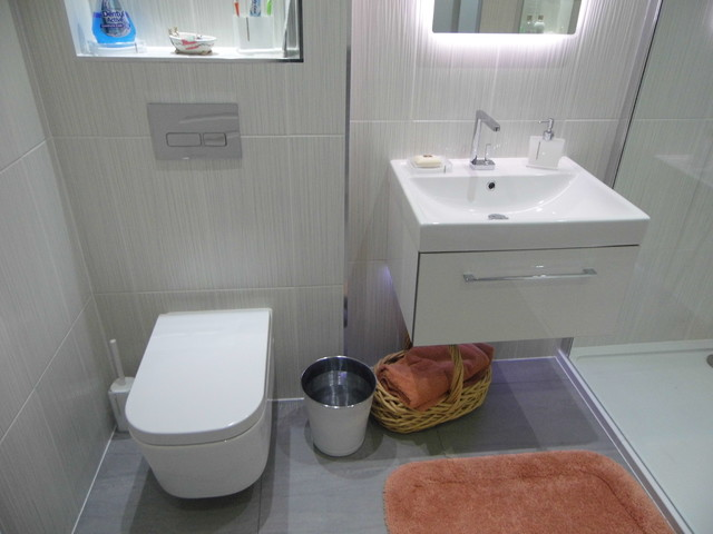 Luxury Ensuite Bathroom Contemporary Bathroom Glasgow By Bagno Design Scotland