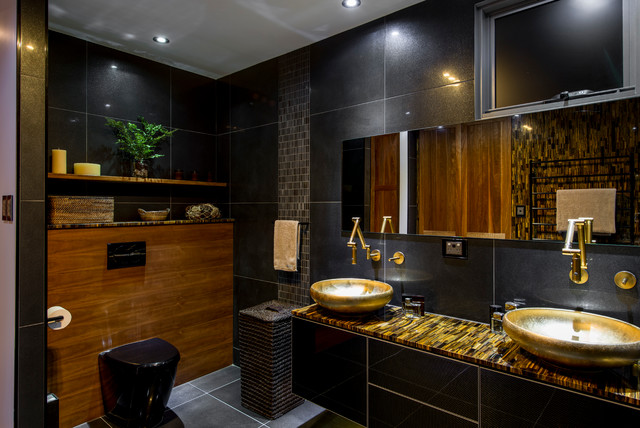 luxury ensuite contemporary bathroom brisbane by enigma