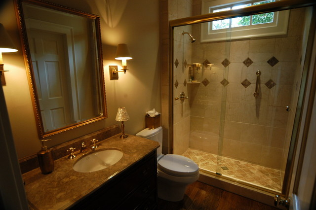 Luxury Guest Bathroom Traditional Bathroom Atlanta By Griffith Construction Design Inc