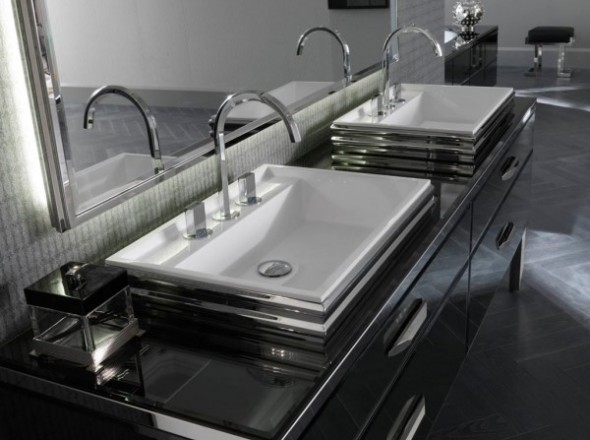 New Modern Glamour Inspired By Italy  Bespoke Bathrooms