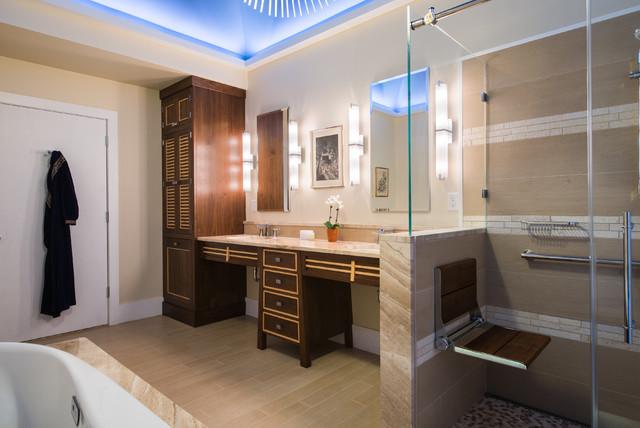 Luxury Japanese Inspired Ada Accessible Bath Asian Bathroom Philadelphia By Douglas R