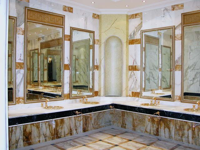 Marble Bathroom Ideas To Create A Luxurious Scheme: Luxury Marble Bathroom
