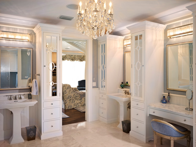 Luxury master bath in the milkey by tampa florida home for The bathroom builders
