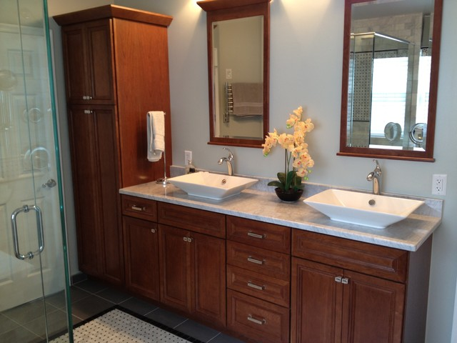 Luxury Master Bath - Traditional - Bathroom - philadelphia - by Lowes of Morgantown, PA