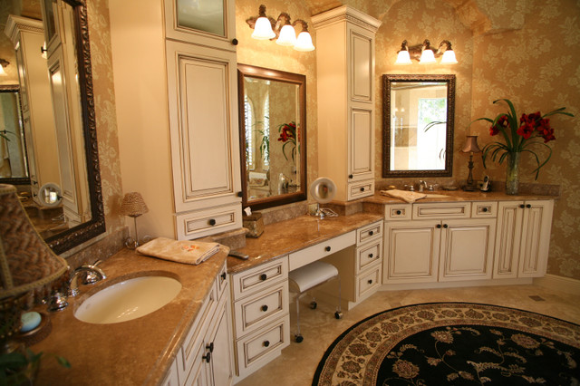 Luxury master bath suite for Master bathroom suite designs