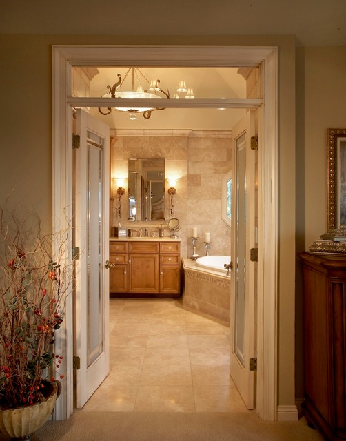 Luxury master bath suite for Houzz bathrooms traditional