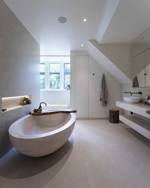 Luxury Master Bathroom contemporary-badrum