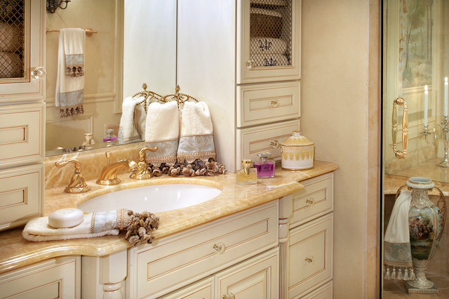Luxury Master Bathroom Remodel - mediterranean - bathroom - new ...