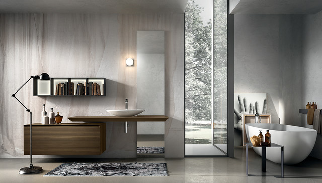 Bathroom wall cabinets with mirrors - Luxury Modern Italian Bathroom Vanities Modern Bathroom
