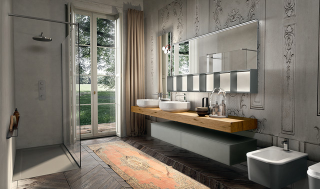 Modern bathroom sinks and faucets - Luxury Modern Italian Bathroom Vanities