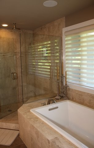 Luxury Spa Inspired Master Bath Bellevue Wa Transitional Bathroom Seattle By Steven Ray