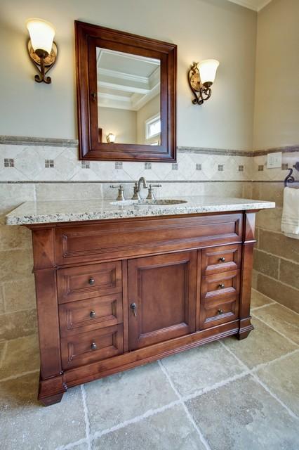 Luxury Spa Master Bathroom traditional-bathroom